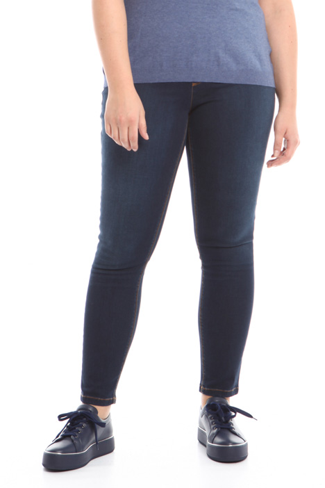 Leggings in denim stretch Intrend