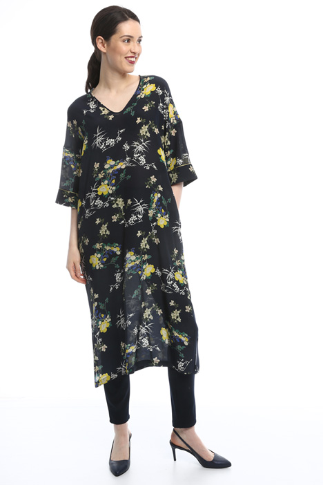 Silk crepe tunic Intrend