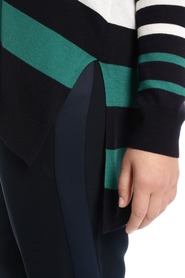 Cardigan in viscosa fluida Intrend