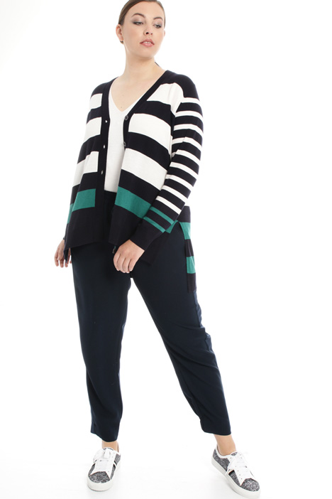Fluid viscose cardigan Intrend