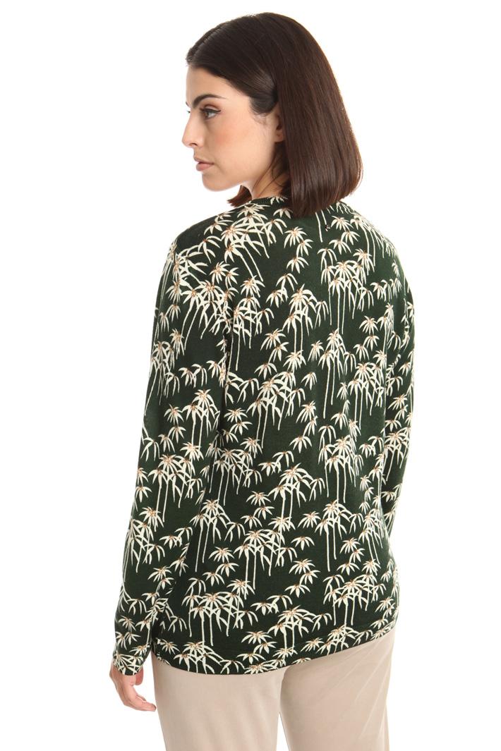 Maglia in pura lana stampata Intrend