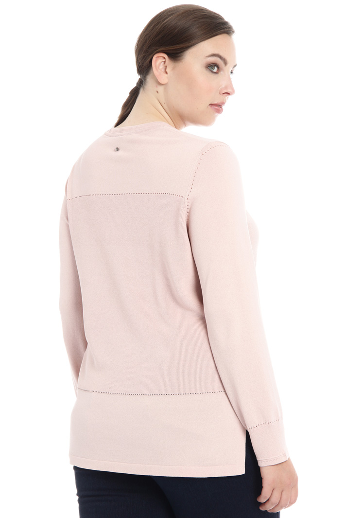 Crepe viscose sweater Intrend