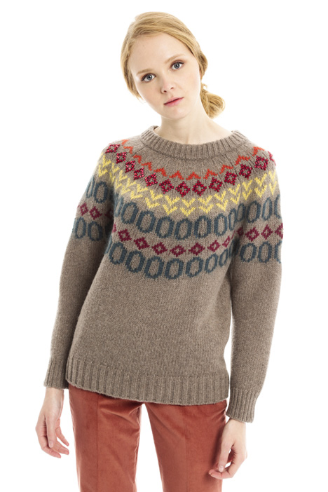 Embroidered sweater Intrend