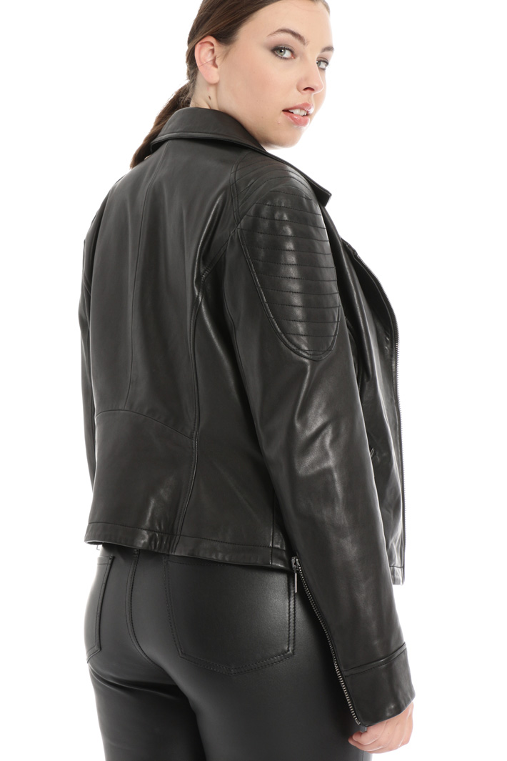Genuine leather jacket Intrend