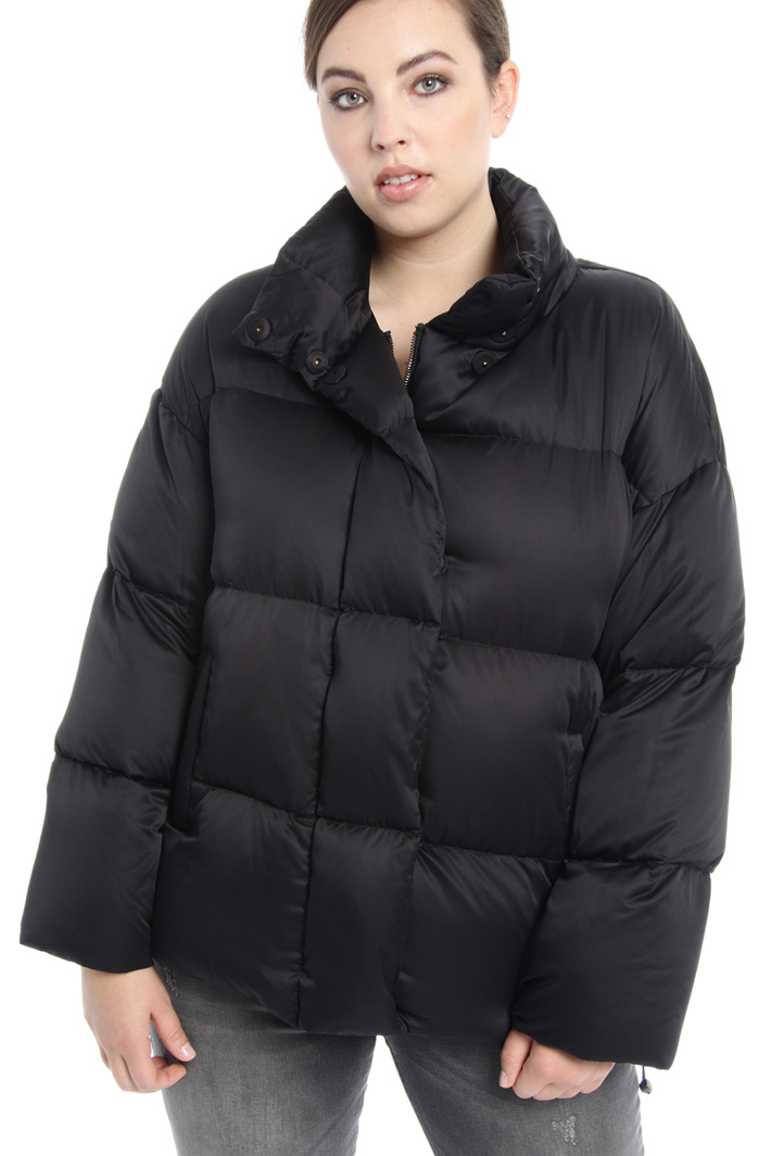 Satin down jacket Intrend