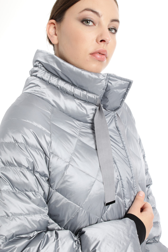Quilted shimmering down jacket Intrend