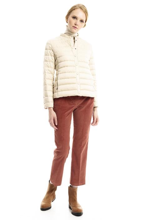 Short satin-effect down jacket Intrend