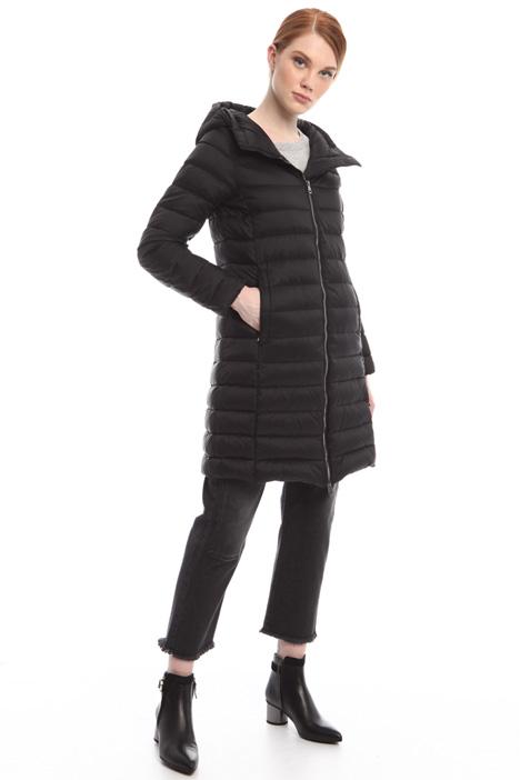 Down coat with zip Intrend
