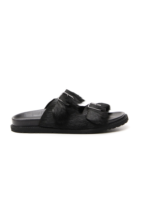 Sandalo in pelliccia Intrend