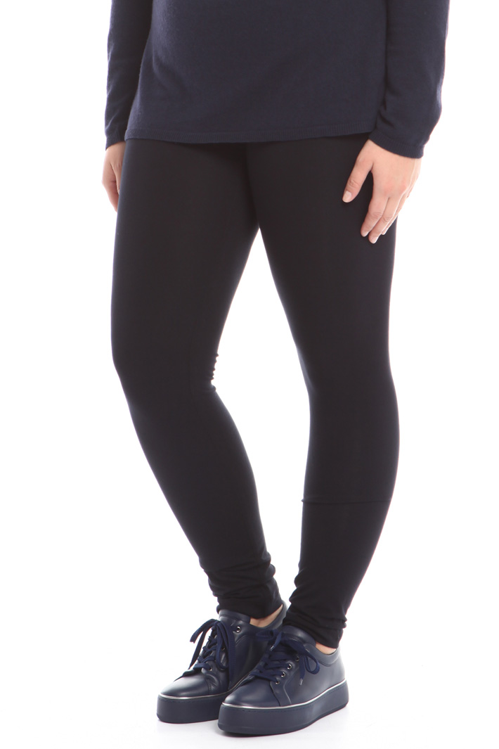 Stretch viscose leggings Intrend