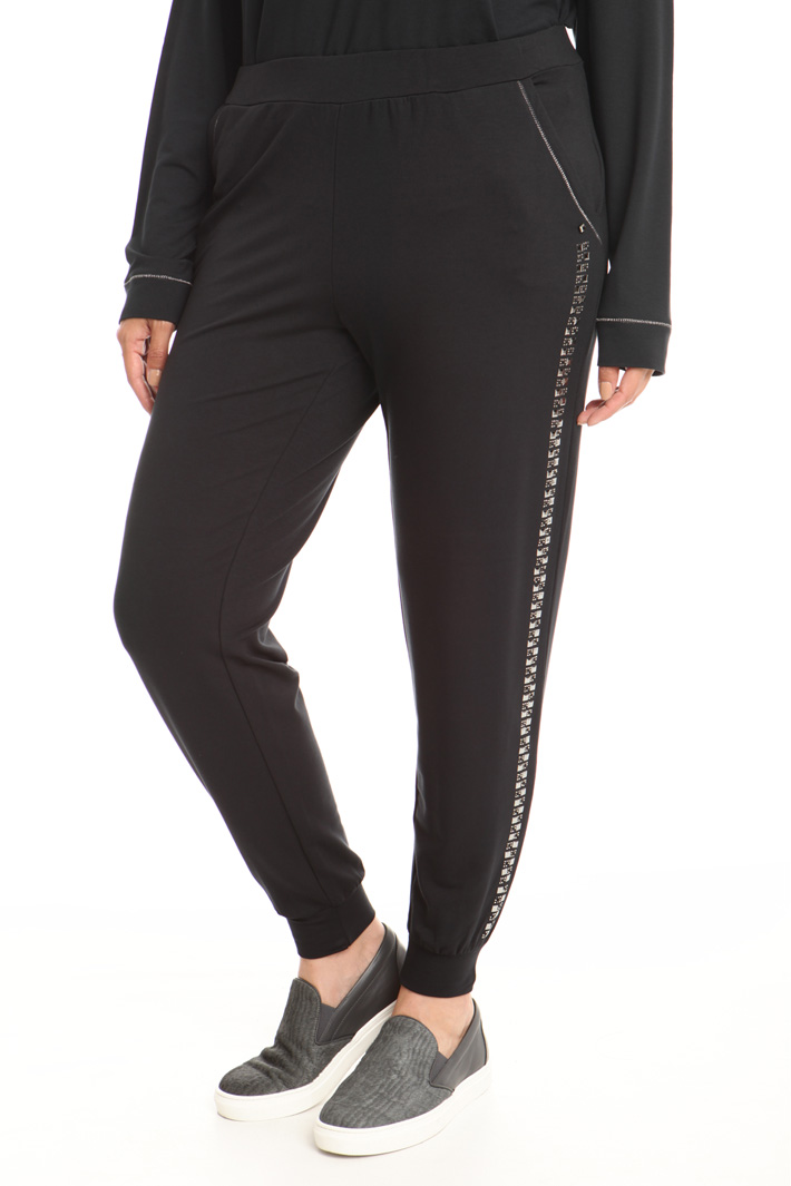 Jersey jogging style trousers Intrend