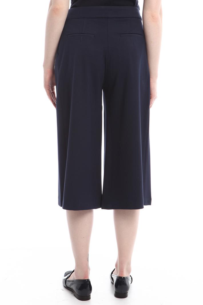 Pantaloni svasati in jersey Intrend