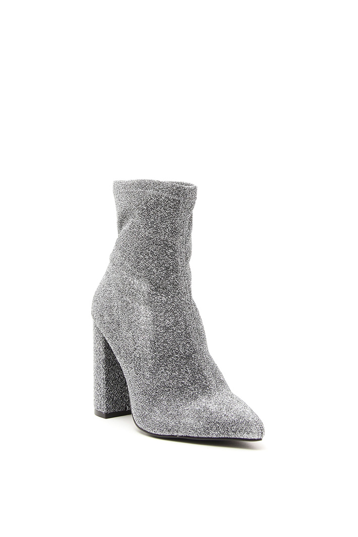 Heeled glitter ankle-boots Intrend
