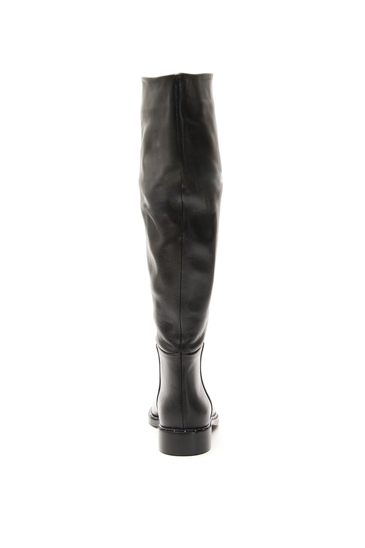 Micro-studs boots Intrend