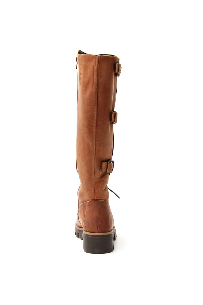 Strap boots Intrend
