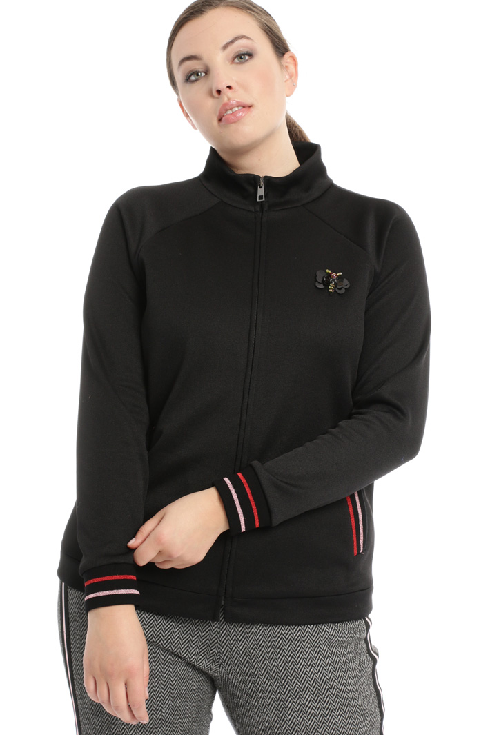 Technical jersey sweatshirt Intrend
