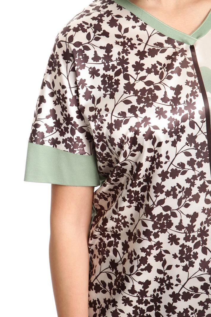 Kimono sleeves jersey T-shirt Intrend