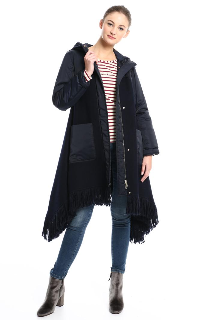 Bimaterial coat Intrend