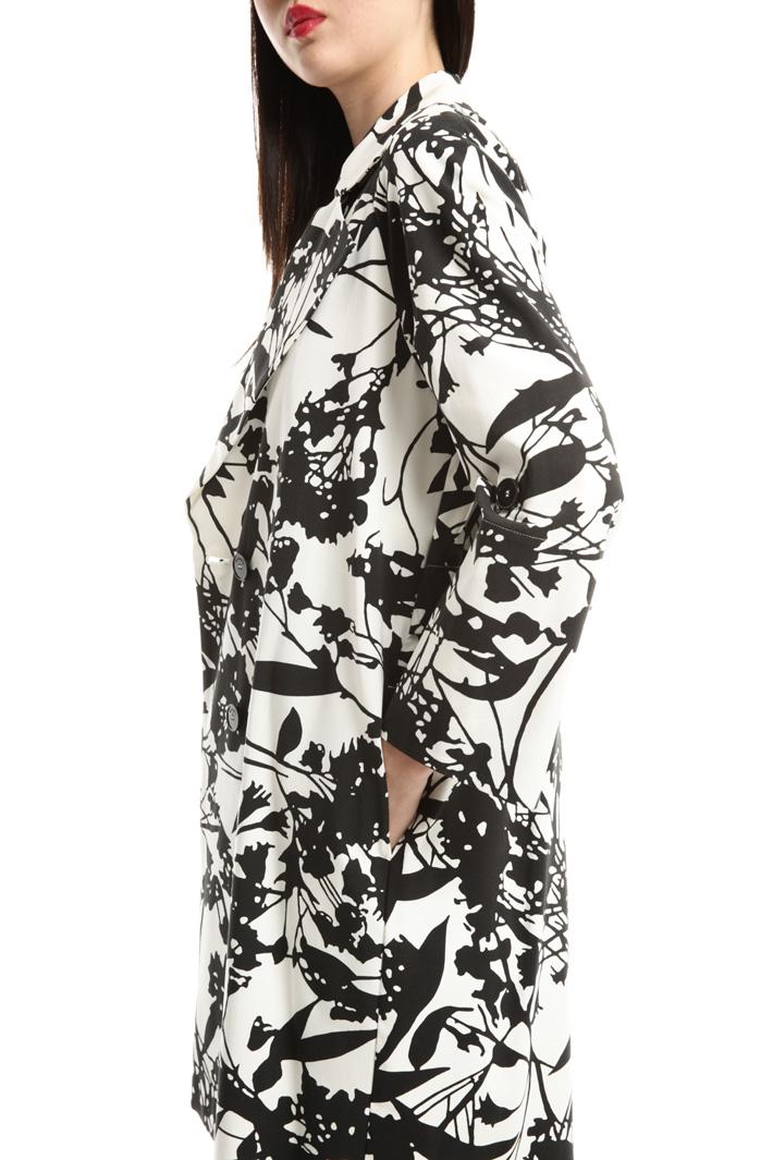 Printed duster coat Intrend