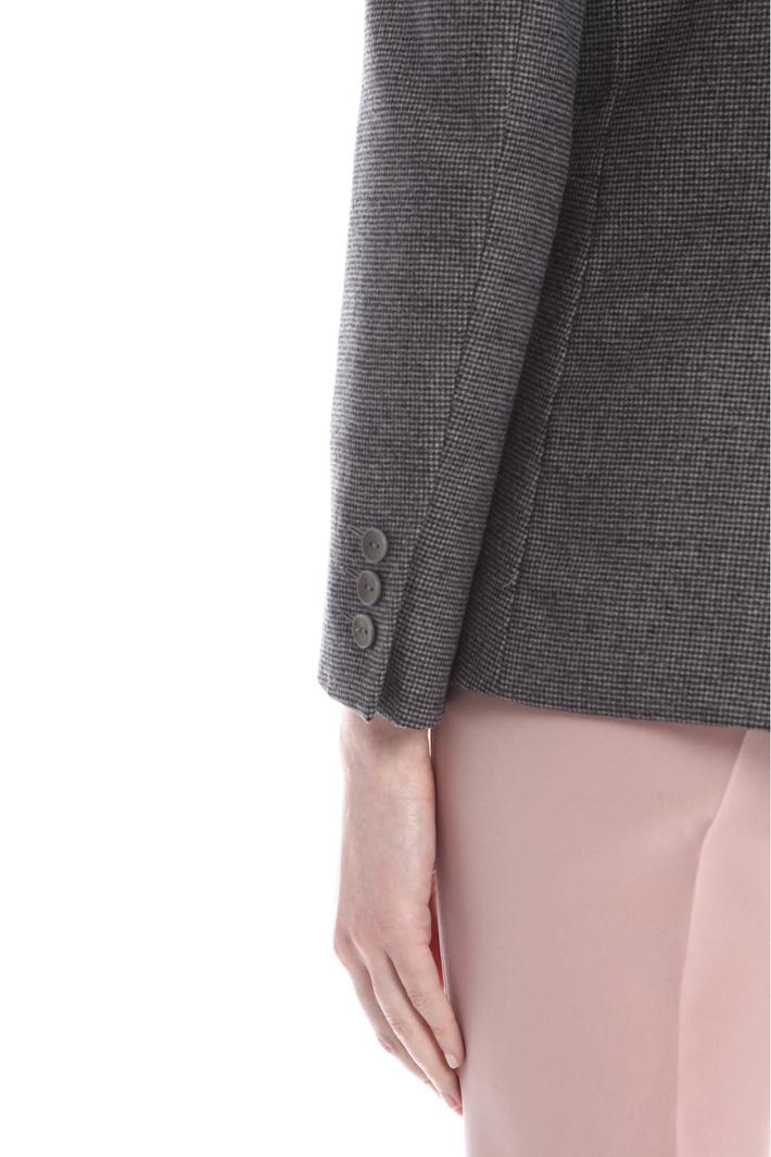 Blazer in flanella di lana Intrend
