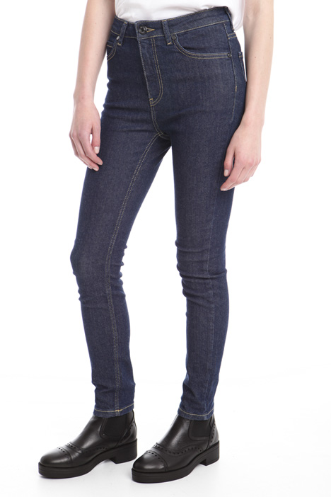 Skinny trousers in denim Intrend