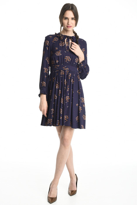 Printed sablé dress Intrend