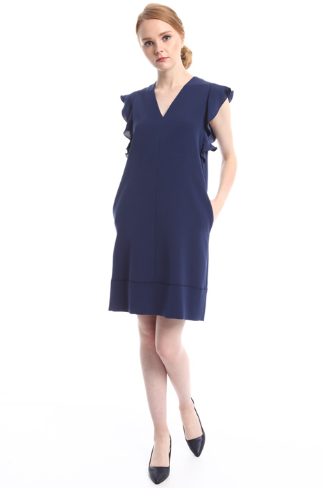 Flounced dress with flared hem Intrend