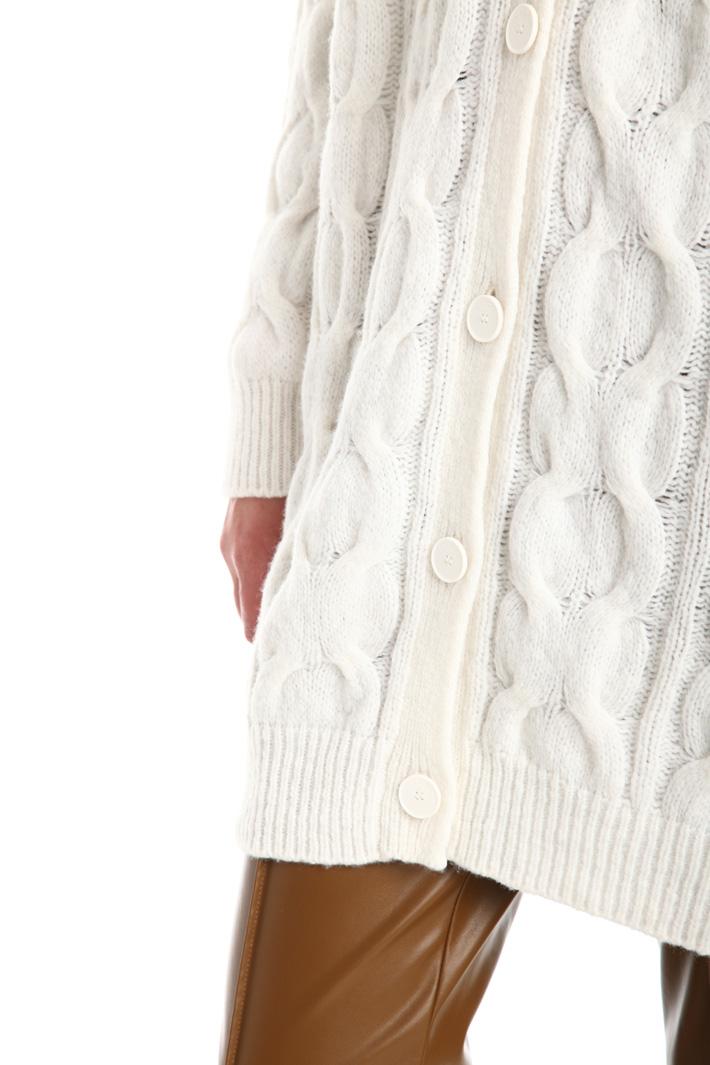 Cardigan in misto lana Intrend