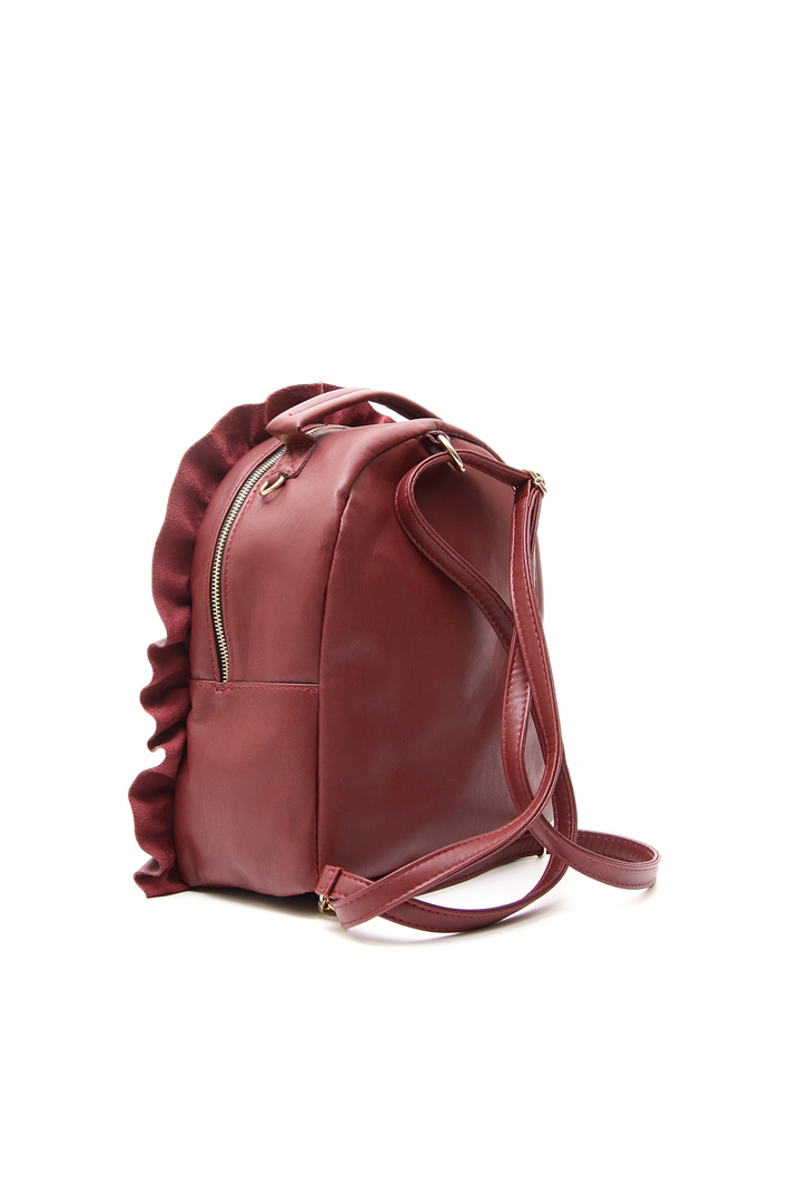 Leather-effect backpack Intrend