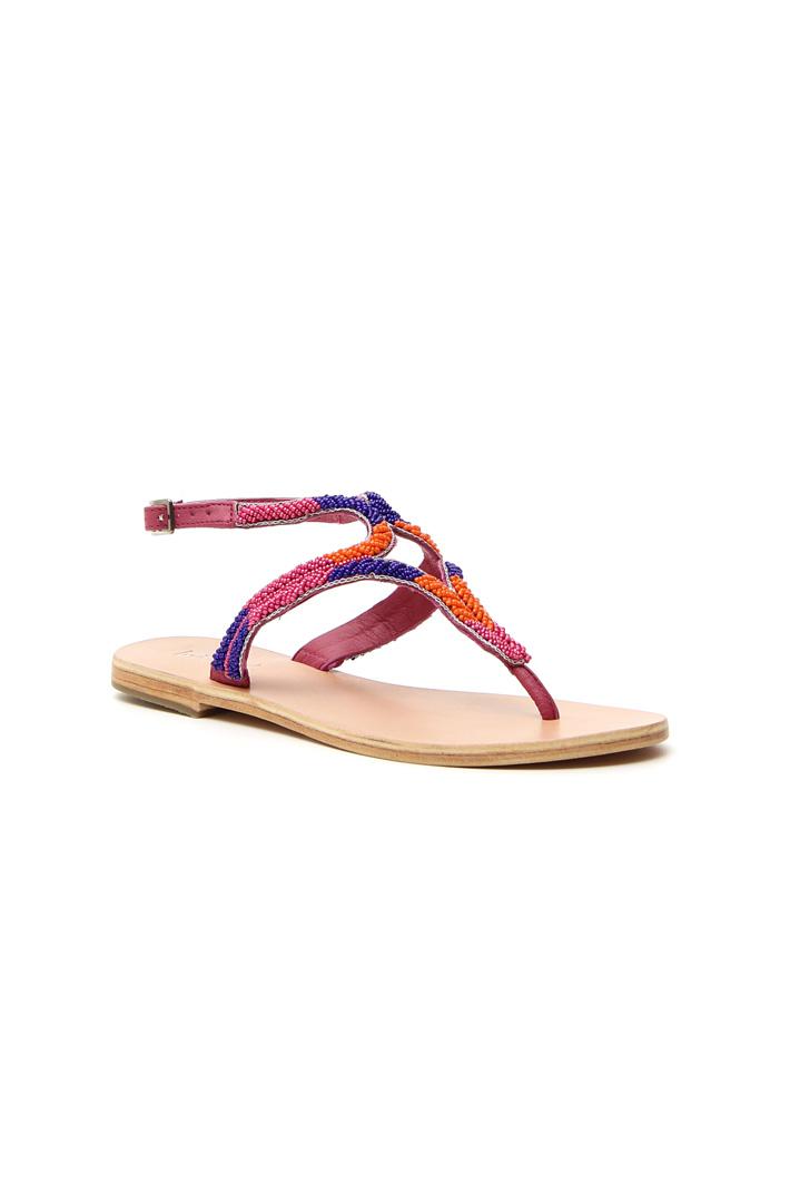 Sandalo flat con perline Intrend