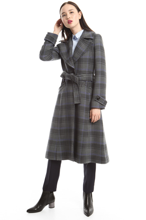 Stretch wool coat Intrend