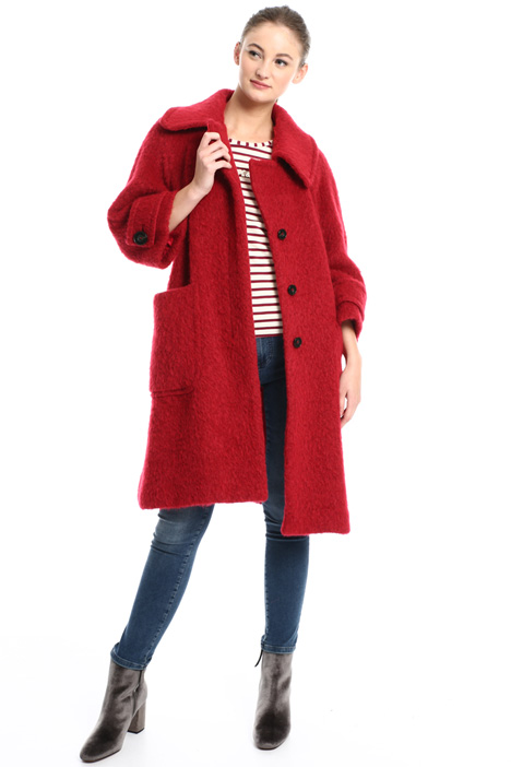 Cappotto in lana misto alpaca Intrend