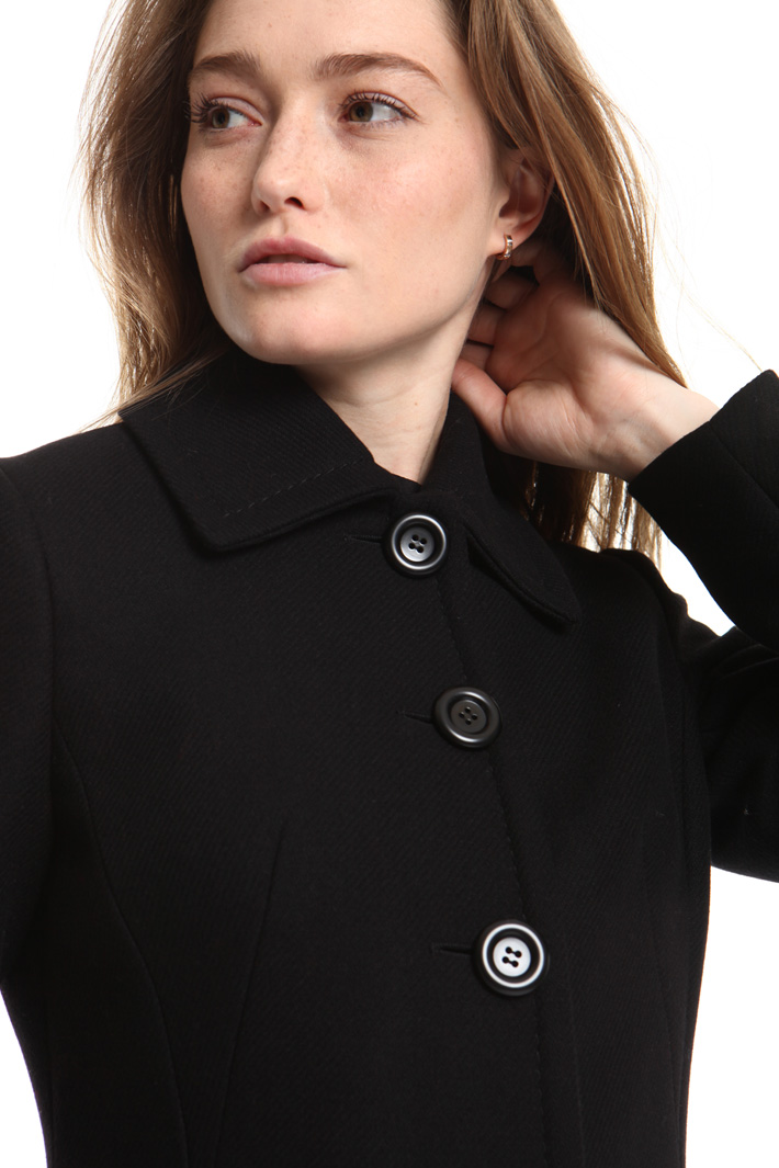 Double wool coat Intrend