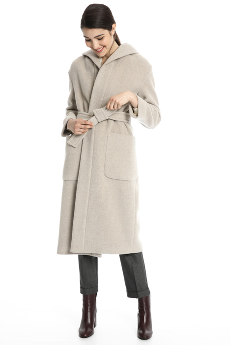 Soft wool blend coat Intrend