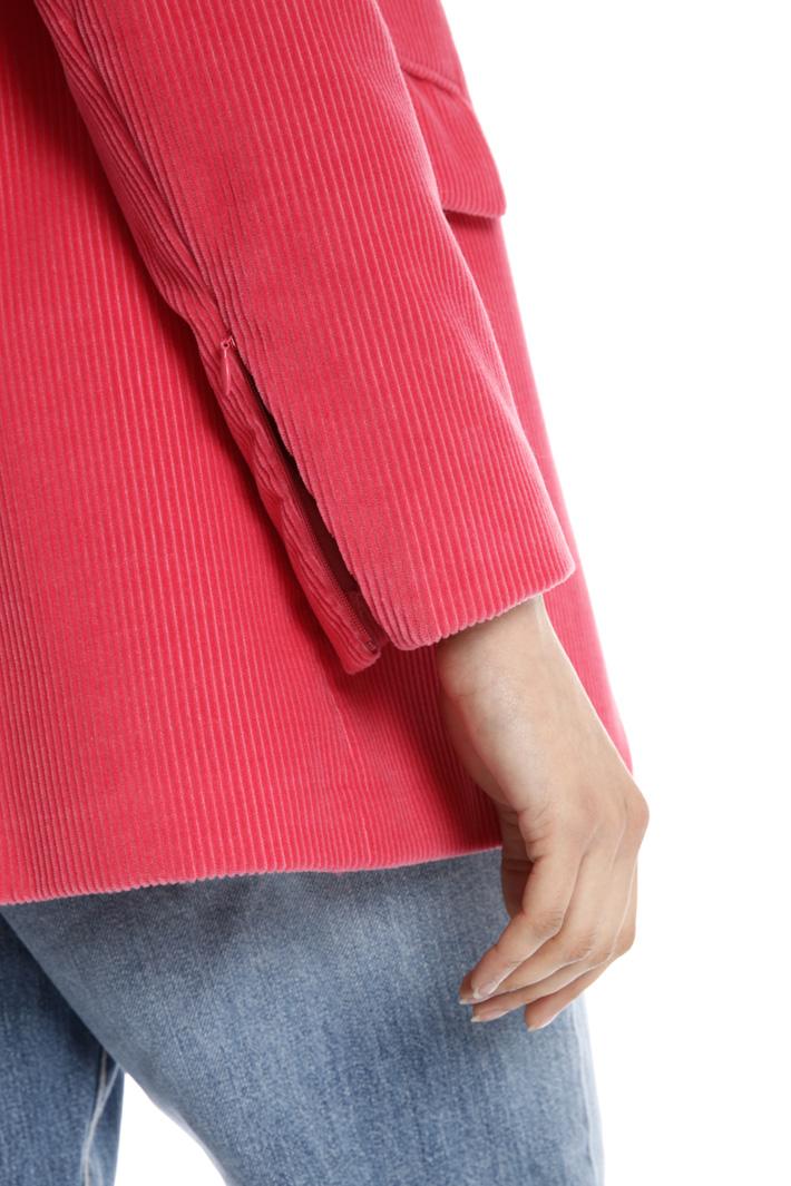 Oversized velvet blazer Intrend