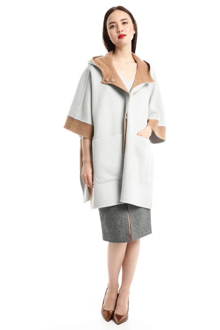 Cappa ampia in lana Intrend