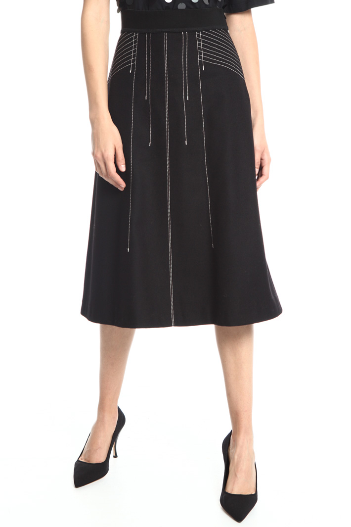 Pure wool skirt Intrend