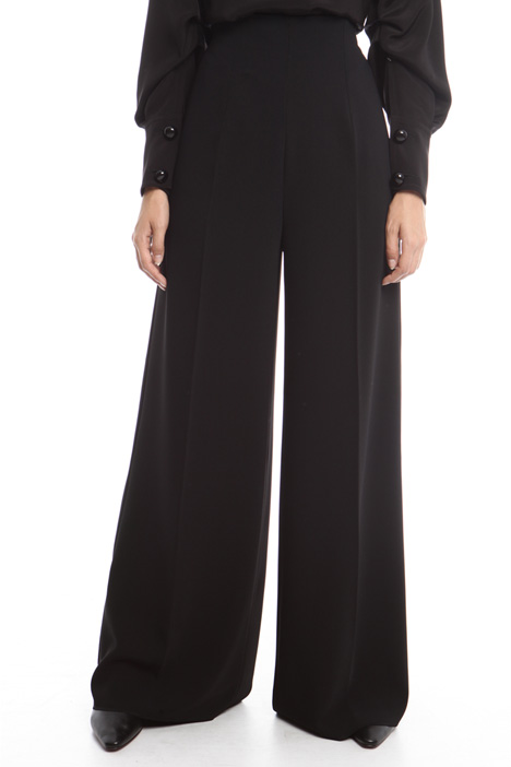 High-waisted palazzo trousers  Intrend