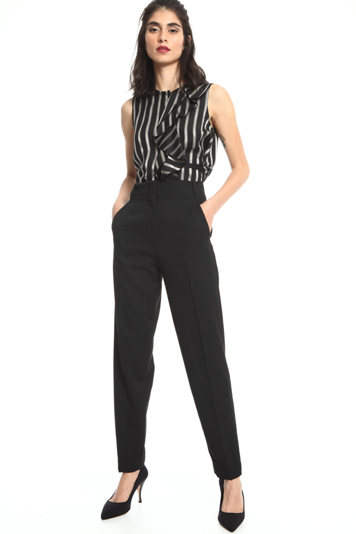Long viscose trousers Intrend