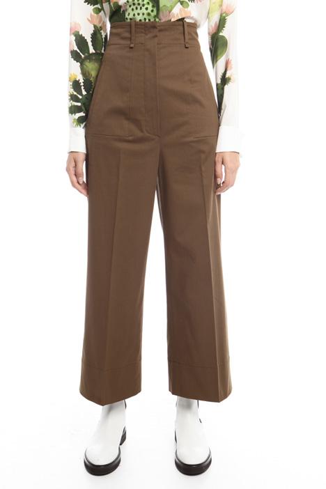 Pantaloni in cotone Intrend