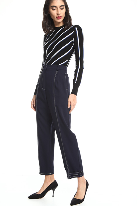Long soft-fit trousers Intrend