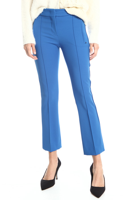Regular fit viscose trousers Intrend