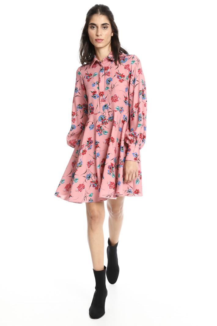 Short chemisier dress Intrend