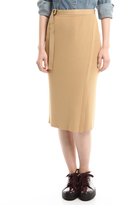 Multi-layer panel skirt Intrend