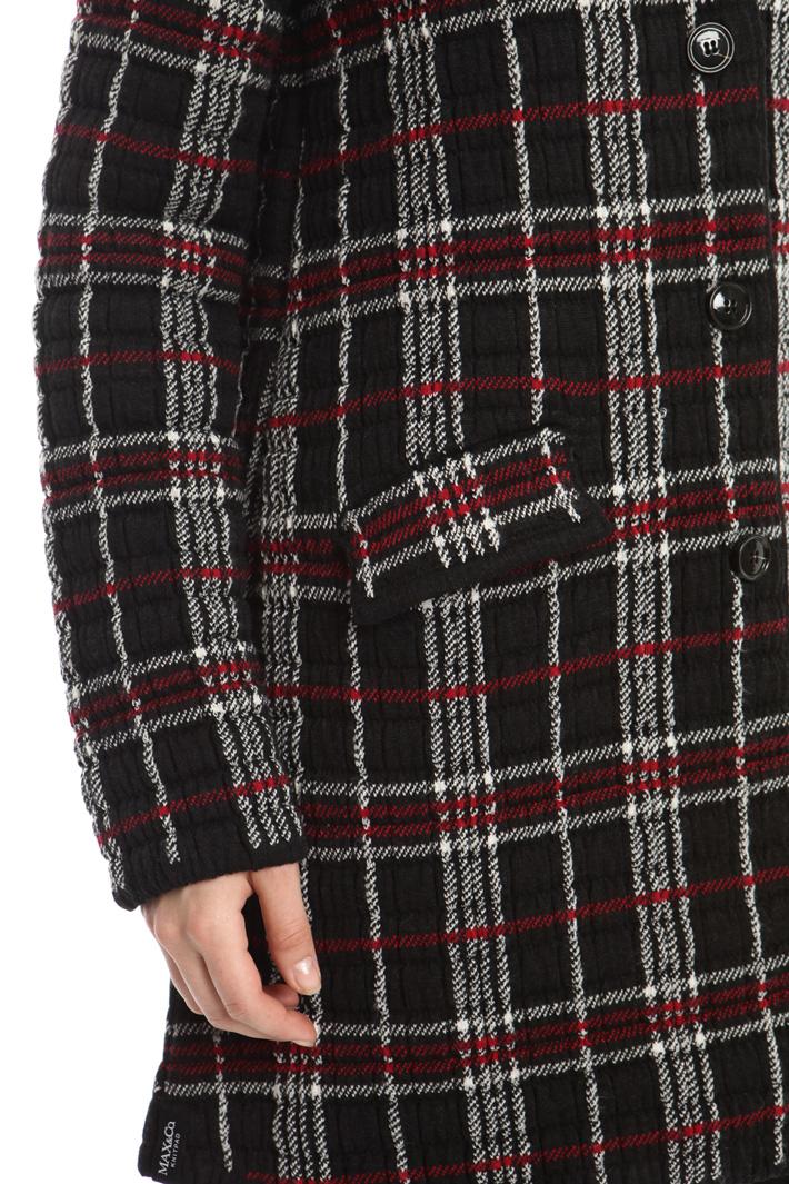 Capospalla in maglia jacquard Intrend