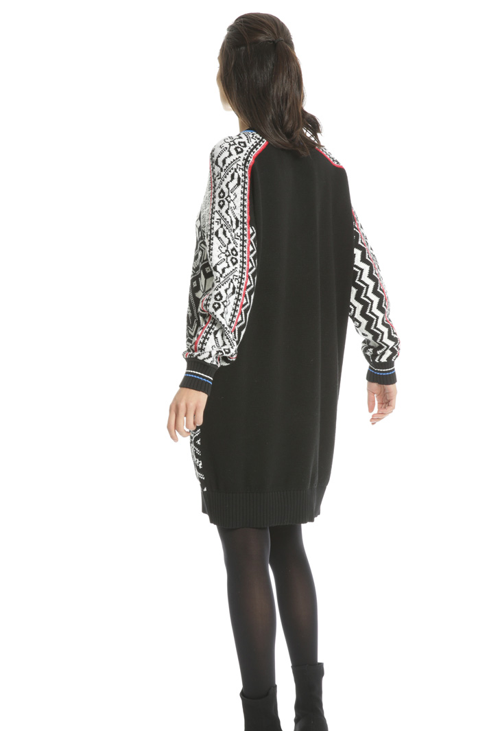 Oversized pure wool dress Intrend