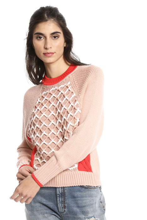 Boxy fit wool sweater Intrend