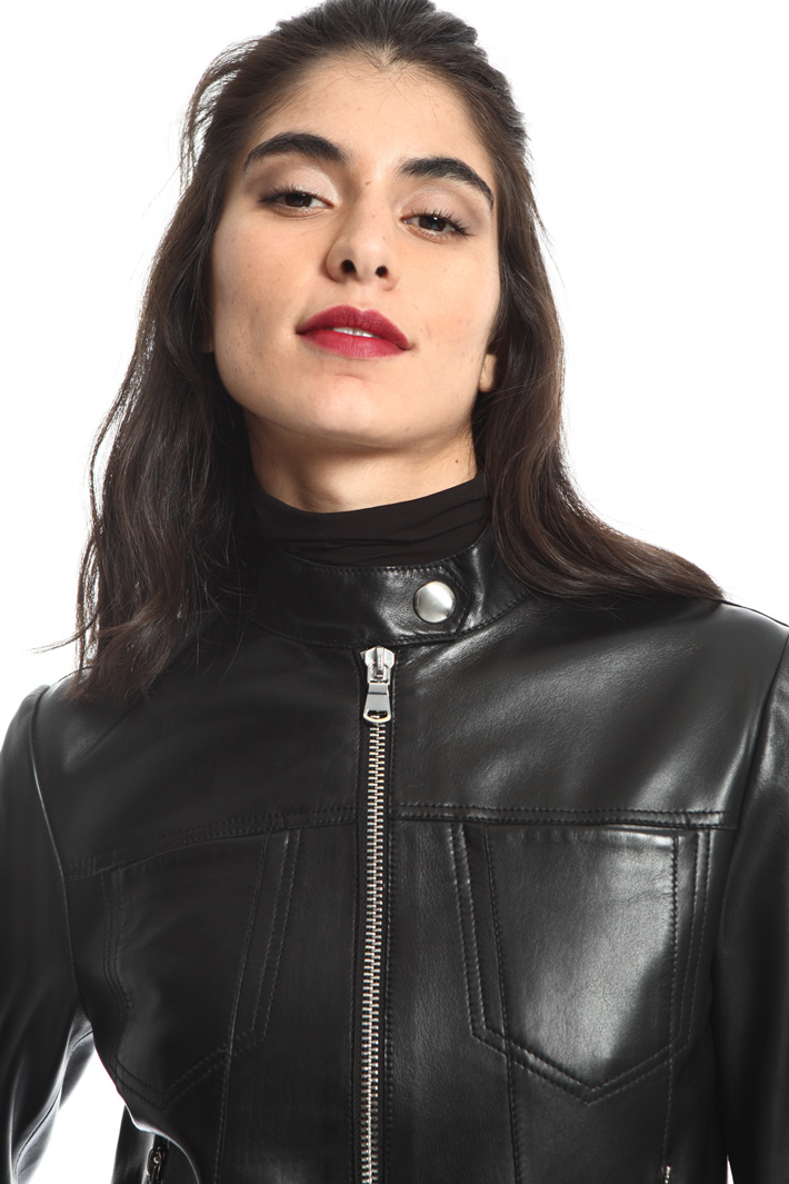 Leather jacket Intrend
