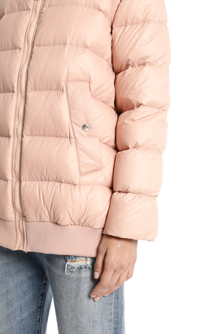 Hooded down coat Intrend