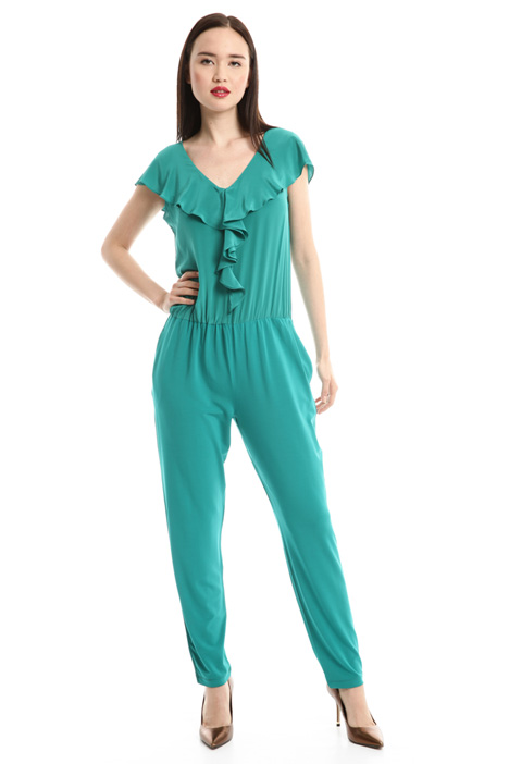 Jersey crepe jumpsuit Intrend